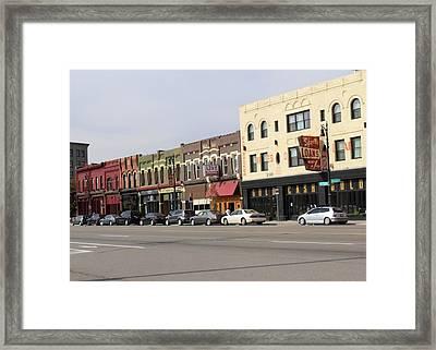 Corktown Framed Print by Deborah Magasark