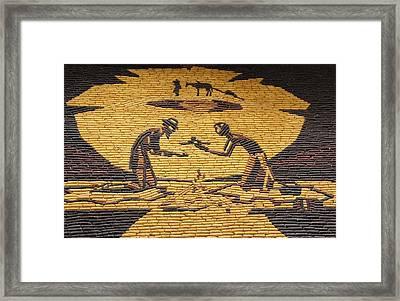 Corn Art At Corn Palace 07 Framed Print