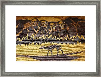 Corn Art At Corn Palace 02 Framed Print