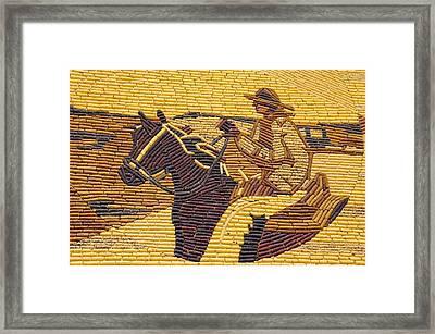 Corn Art At Corn Palace 01 Framed Print