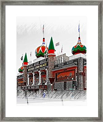 Corn Palace South Dakota Framed Print