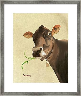 Corneila Framed Print by Anne Beverley-Stamps