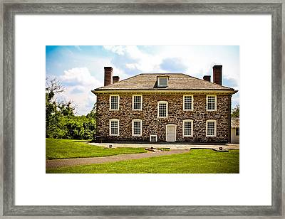 Cornelius Low House Framed Print by Colleen Kammerer