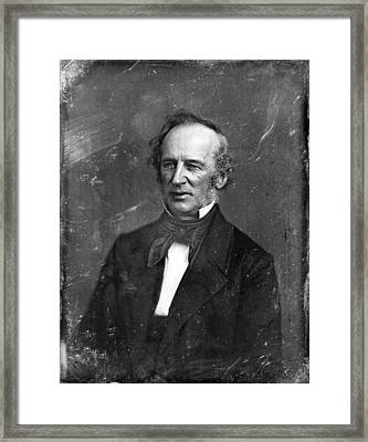 Cornelius Vanderbilt. Half Plate Framed Print by Everett