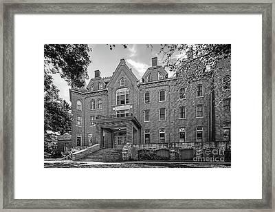 Cornell College Bowman Carter Hall Framed Print