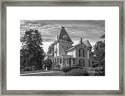 Cornell College President's House Framed Print by University Icons