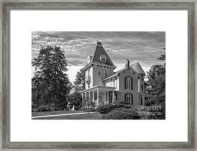 Cornell College President's House Framed Print