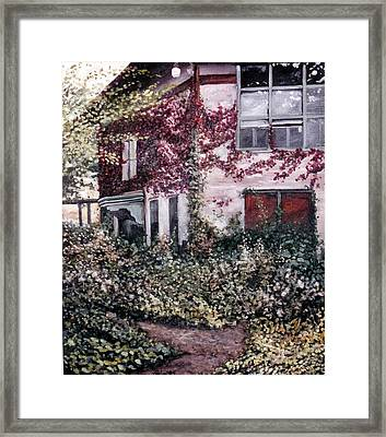 Cornell Plantations 2 Framed Print by Sue Tesin