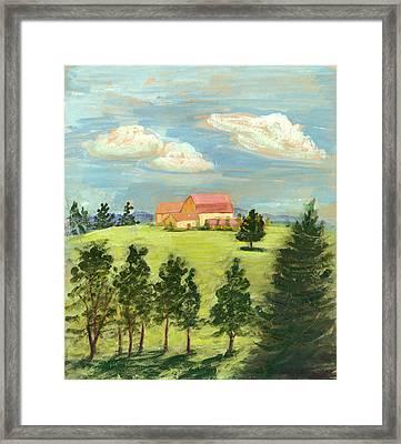 Cornell Plantations Ithaca Ny Framed Print