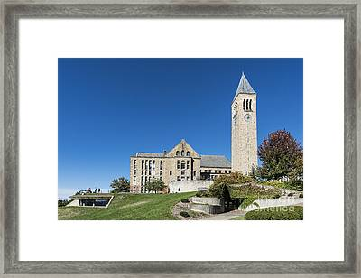 Cornell University Campus Framed Print by John Greim