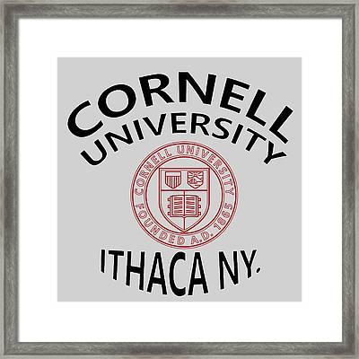 Cornell University Ithaca N Y Framed Print