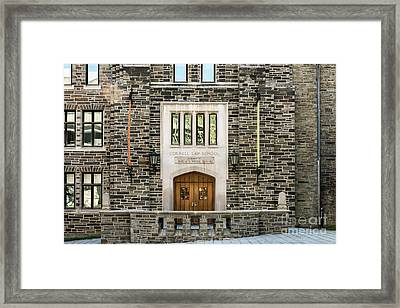 Cornell University School Of Law Framed Print