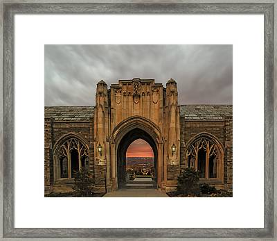 Cornell University Framed Print by Steven  Michael
