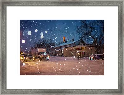 Corner Store Framed Print by Bryan Scott
