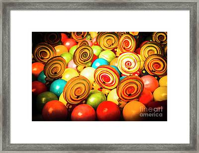 Corner Store Candies  Framed Print
