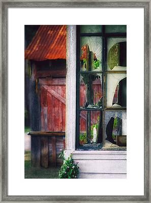 Corner Store Framed Print