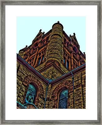 Cornered Framed Print
