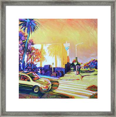 Corners Framed Print