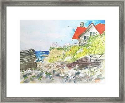 Cornfield Point Old Saybrook Framed Print
