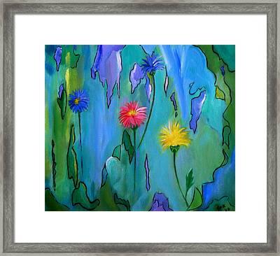 Cornflowers Framed Print
