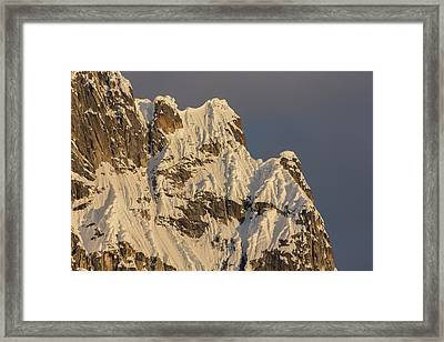 Cornices On The Rooster Comb Framed Print by Tim Grams