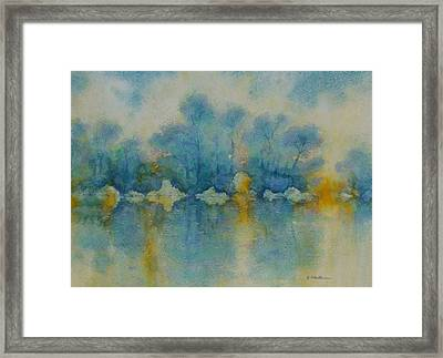 Cornish Blue Framed Print by Georg Schedlbauer