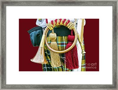 Cornish National Tartan Framed Print