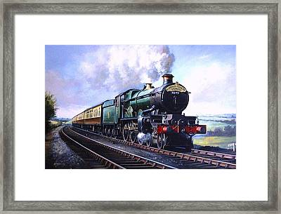 Cornish Riviera Express. Framed Print by Mike  Jeffries