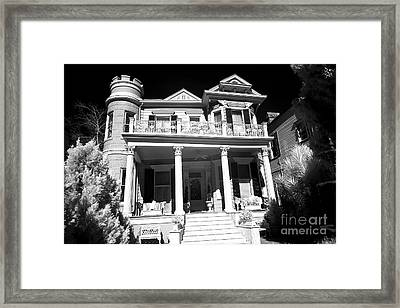 Cornstalk Hotel Infrared Framed Print by John Rizzuto