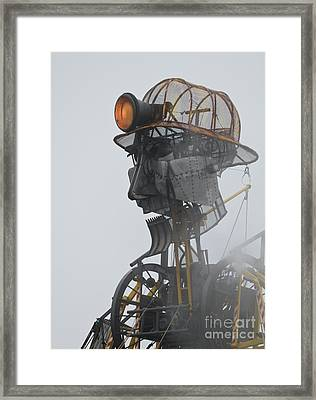 Cornwall Man Engine Framed Print by Terri Waters