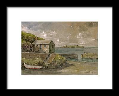 Cornwall Framed Prints