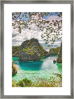 Coron Lagoon Framed Print