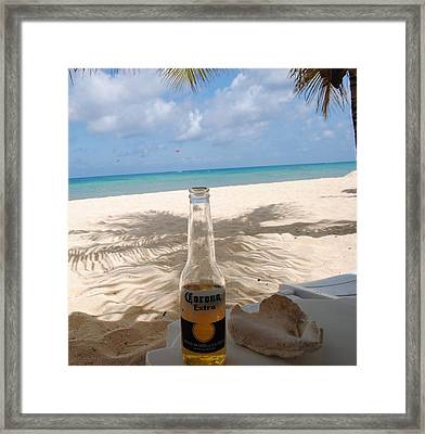 Corona Beach Day Framed Print by Robert  Moss