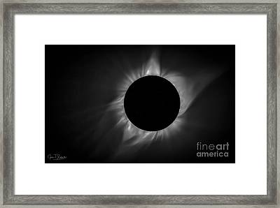 Corona During Total Solar Eclipse Framed Print