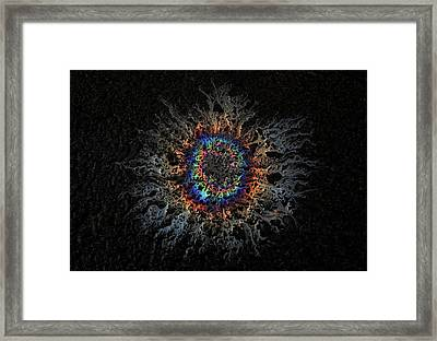 Framed Print featuring the photograph Corona by Mark Fuller
