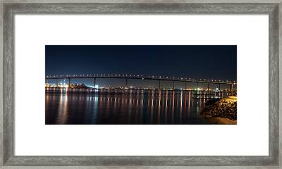 Coronado Bridge San Diego Framed Print by Gandz Photography