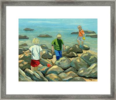Coronado Island Expedition Framed Print by Karyn Robinson