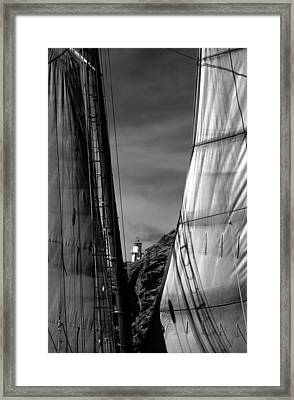 Coronado Island Lighthouse Framed Print
