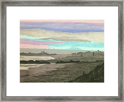 Coronado Kaleidoscope Framed Print by Harvey Rogosin