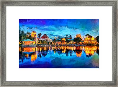 Coronado Springs Resort Framed Print