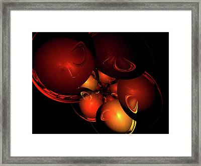 Coronal Mass Ejections Framed Print by Jeremy Nicholas