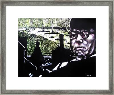 Corporate Ambition Framed Print by Chester Elmore