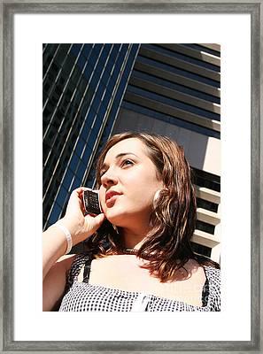 Corporate Call Framed Print