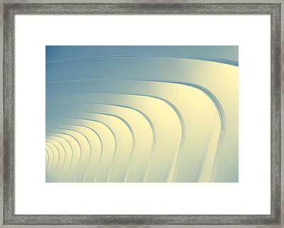 Corridoio D'incurvatura Framed Print by Todd Klassy