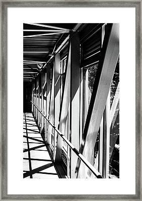 Corridors Framed Print
