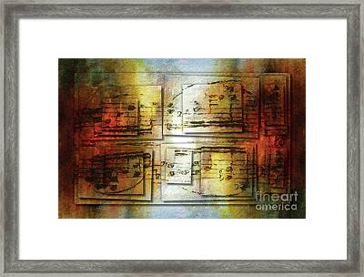 Corroded Cadence 2 Framed Print
