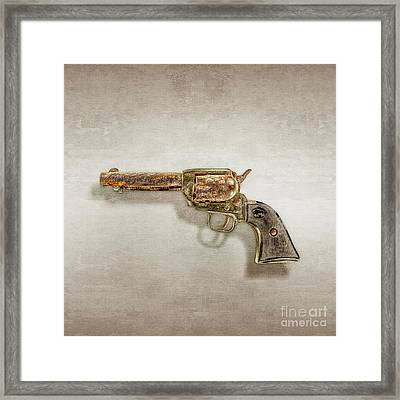 Corroded Peacemaker Framed Print by YoPedro