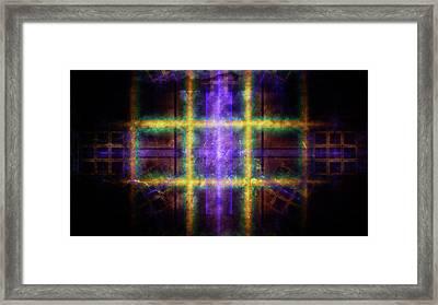Corrosion Framed Print by Rhonda Barrett