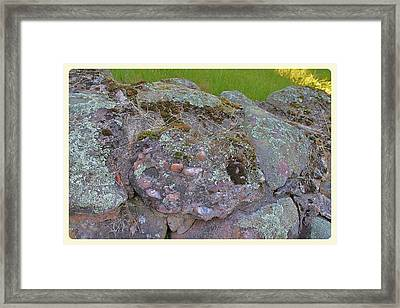 Corruption On The Cairns Framed Print