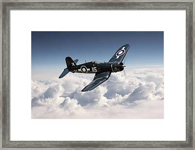 Corsair F4u - Royal Navy Framed Print